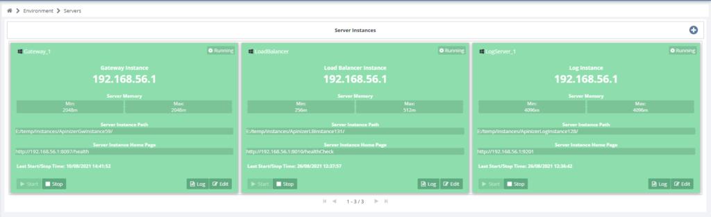 Apinizer 2.x Instance Management